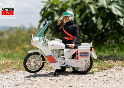 Action Man Police Motorcyclist